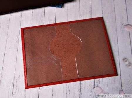 Заготовки обложка на паспорт кожа ручной работы на заказ