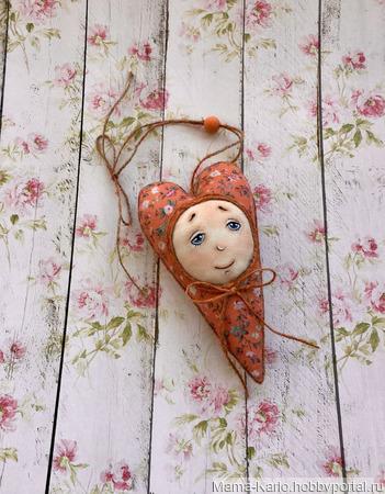 Сердечко на День Святого Валентина ручной работы на заказ