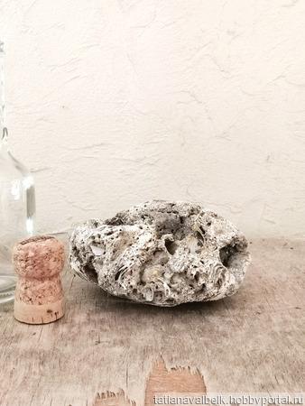 Морской камень пористый для декора фотосессий ручной работы на заказ