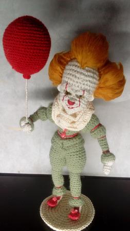 Клоун Пеннивайз ручной работы на заказ