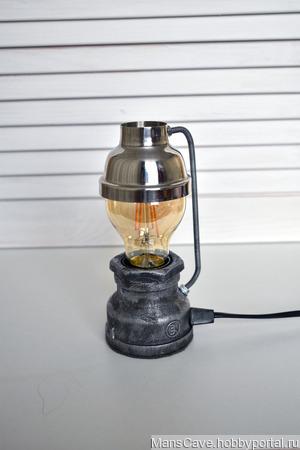Настольный светильник/лампа в стиле Loft Mini ручной работы на заказ