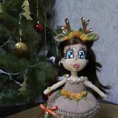 Подарочная каркасная куколка