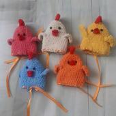 Пасхальные сувениры  - мешочки для яиц Курочки