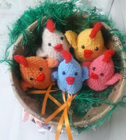 Пасхальные сувениры  - мешочки для яиц Курочки ручной работы на заказ