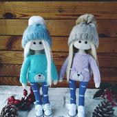 Мастер-класс по вязанию куклы в костюме Мишки