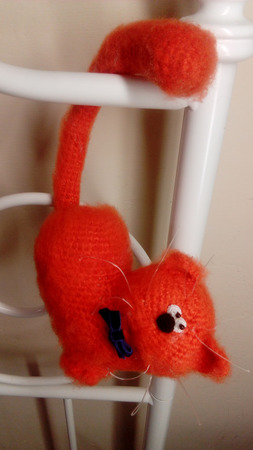 """Кот """"Любовь-морковь"""" ручной работы на заказ"""