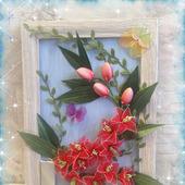 фото: картина с цветами