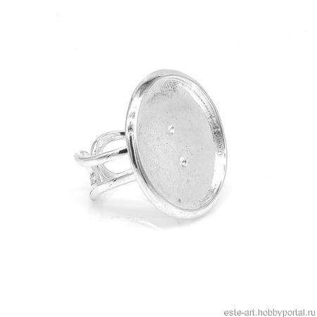 Основа для кольца с площадкой ручной работы на заказ