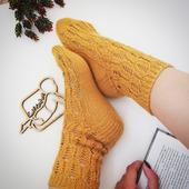 Базовое описание вязания носков/следков