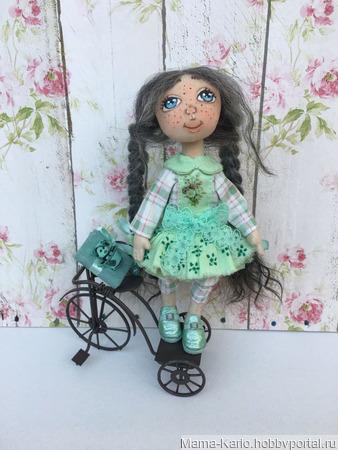 Кукла Анечка ручной работы на заказ