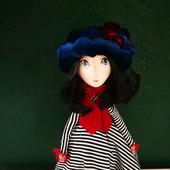 Кукла текстильная каркасная