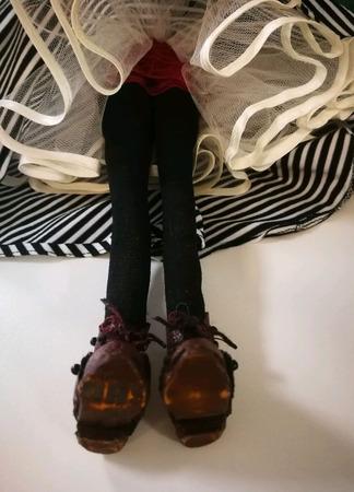 Кукла текстильная каркасная ручной работы на заказ
