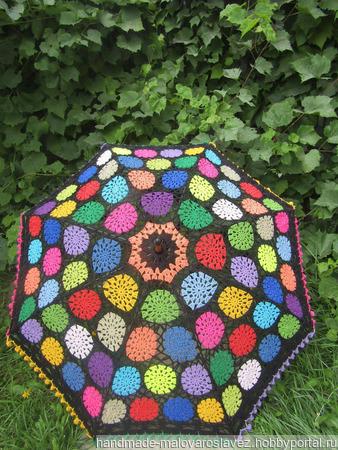 Зонт-трость ручной работы на заказ