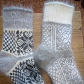 фото: пуховые носки