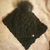 Комплект шапка и снуд