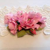 фото: цветы из фоамирана