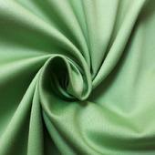 Хлопок стрейч зеленого цвета