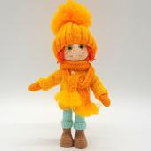 Амигуруми куклы и игрушки: Антошка