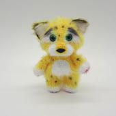 Амигуруми куклы и игрушки: Леопард
