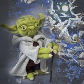 Мягкая игрушка Магистр Йода
