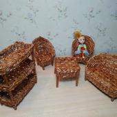 Мебель для куклы до 15 см