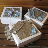 Декор подарочной упаковки, оформление подарка