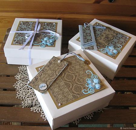 Декор подарочной упаковки, оформление подарка ручной работы на заказ