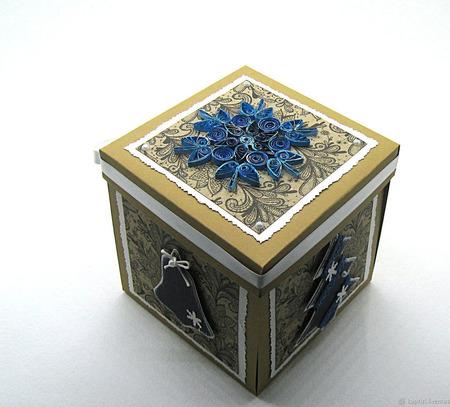 Волшебная зимняя коробочка ручной работы на заказ