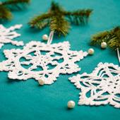Новогодняя снежинка