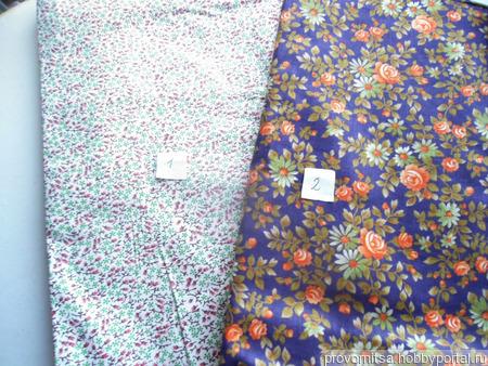Ткани: хлопок винтаж 5 ручной работы на заказ