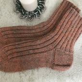 Чистошерстяные носки с козьим пухом