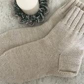 Носки чистошерстяные с ангорой