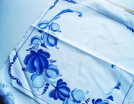 Набор салфеток Гжель ручной работы на заказ