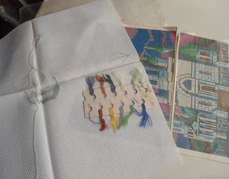 Наборы для вышивания: Елоховский собор ручной работы на заказ
