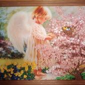 "Картина ""Ангел в саду"""