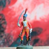 Оловянный солдатик. Трубач 5-го гусарского полка.