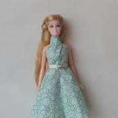 Платье для куклы Барби и ее аналогов