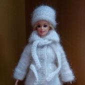 Пальто для куклы Барби и ее аналогов