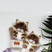 Звероварежки с котами