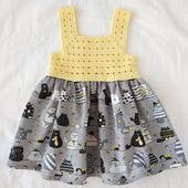 Платье - сарафан для девочки
