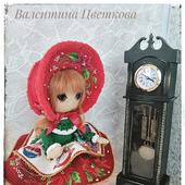Интерьерная кукла Рождественская