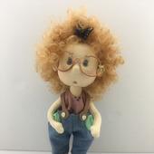 Кукла ручной работы Лапусик
