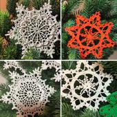 Украшение новогоднее Снежинка