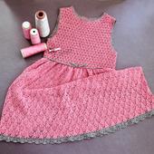 Нарядное платье для девочки 7-8 лет