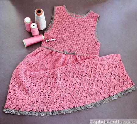 Нарядное платье для девочки 7-8 лет ручной работы на заказ