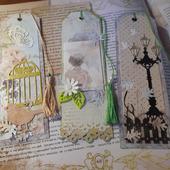 Закладки для книг скрапбукинг