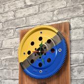 """Настенные часы """"Bus"""" в стиле Лофт"""