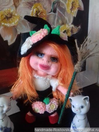 Куколка Цветочная Ведьмочка ручной работы на заказ