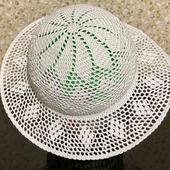 Шляпа ажурная