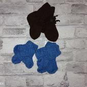 Детские вязаные носочки ручной работы